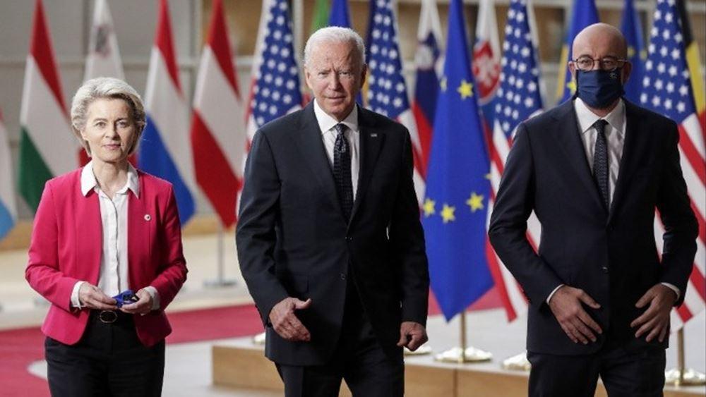 """Τζο Μπάιντεν: """"Τεράστια ευκαιρία η συνεργασία μας με ΕΕ και ΝΑΤΟ"""""""