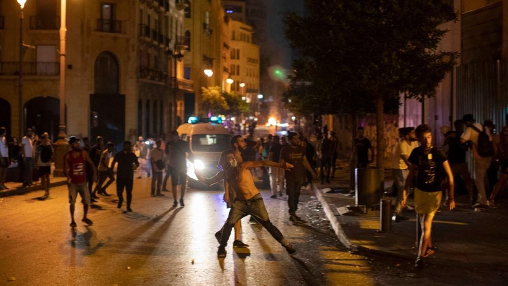 Λίβανος: Διαδηλωτές στη Βηρυτό καλούν την κυβέρνηση να παραιτηθεί