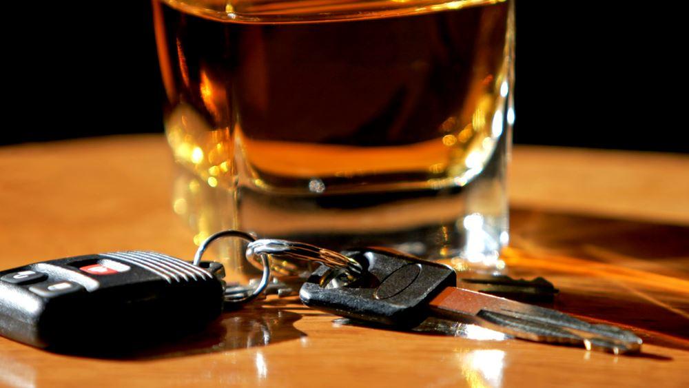 Το τελευταίο σαββατοκύριακο του Μαΐου κόπηκαν 270 κλήσεις για οδήγηση υπό την επήρεια αλκοόλ