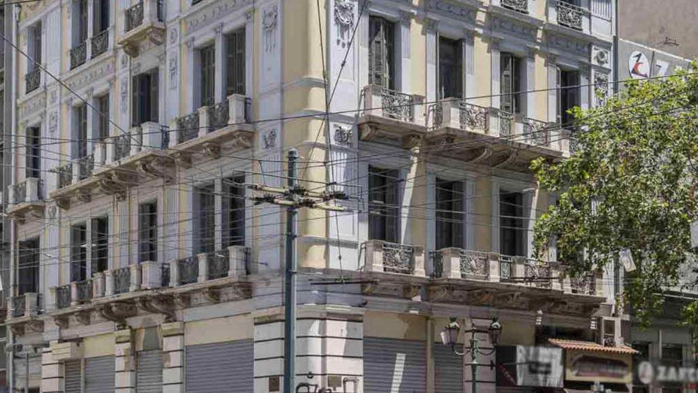 Χέρια επιδιώκεται να αλλάξει πενταώροφο κτήριο στην Ομόνοια