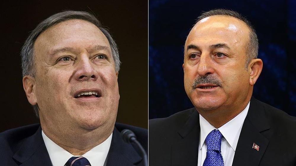 ΗΠΑ: S-400 και Συρία στο επίκεντρο επικοινωνίας Πομπέο - Τσαβούσογλου