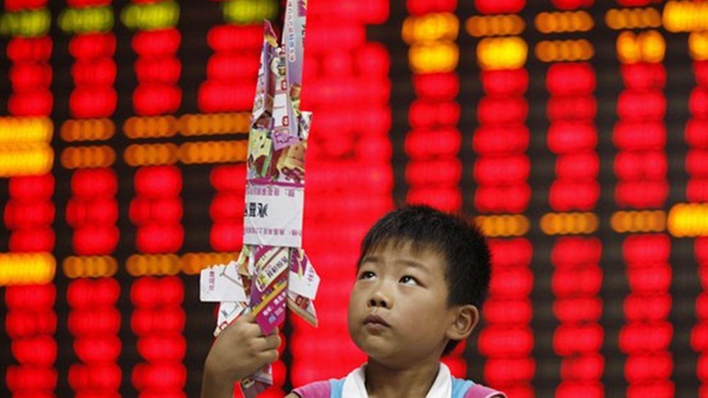 """Στο """"κόκκινο"""" τα ασιατικά χρηματιστήρια, με το βλέμμα στην αμερικανική Fed"""
