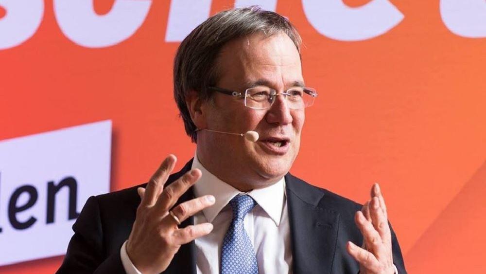 Υποψήφιος για την ηγεσία του CDU ο πρωθυπουργός της Βόρειας Ρηνανίας - Βεστφαλίας Αρμιν Λάσετ