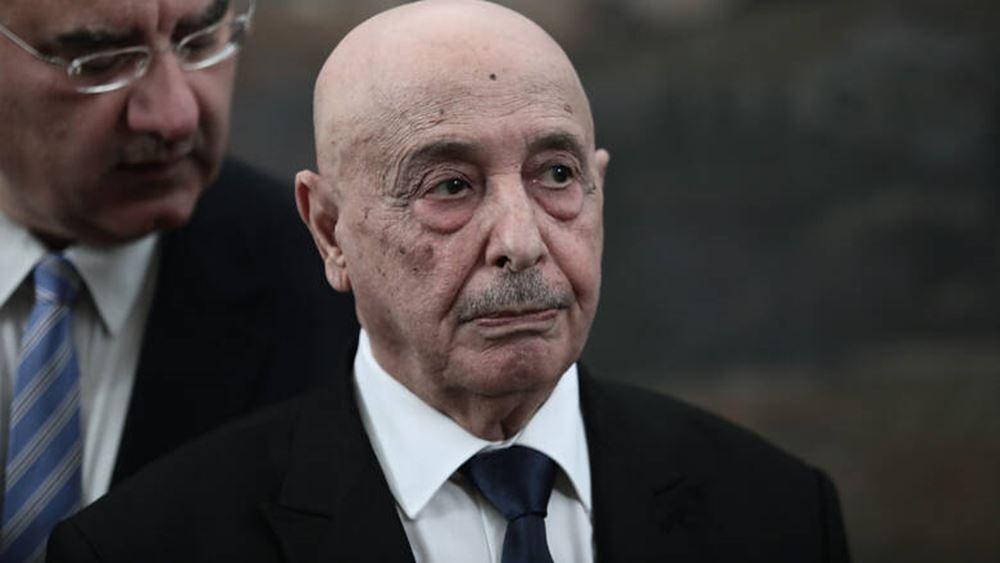 Η Τουρκία προσπαθεί να αντικαταστήσει τον Χαφτάρ με τον πρόεδρο της λιβυκής βουλής, Αγκίλα Σάλεχ