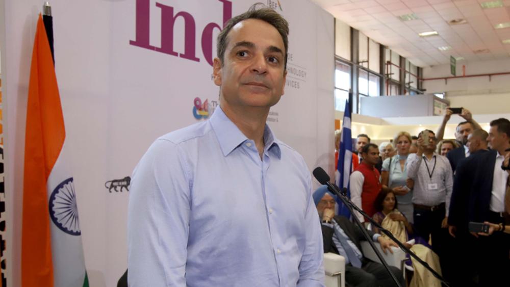 Κ. Μητσοτάκης: Με μια φράση του Γκάντι εγκαινίασε το περίπτερο της Ινδίας