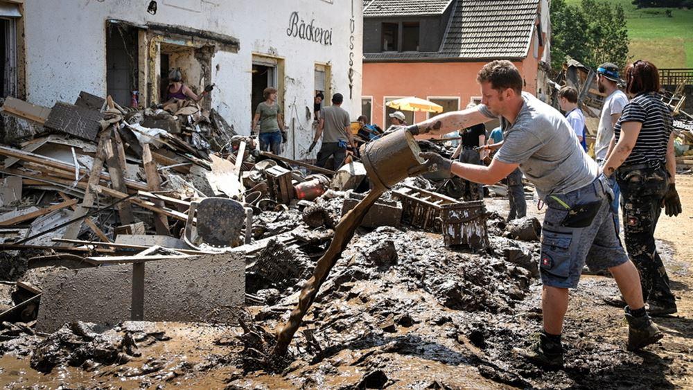 Γερμανία πλημμύρες καταστροφή