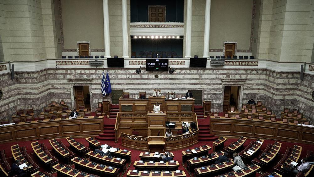 Βουλή: Η στάση των κομμάτων στην τροπολογία για τον υποχρεωτικό εμβολιασμό
