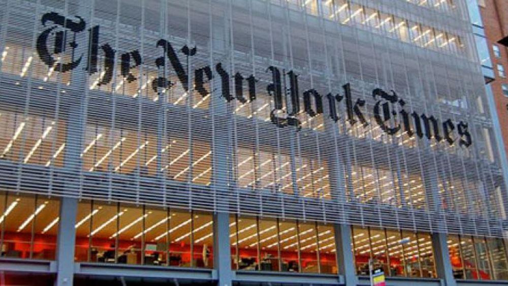 ΗΠΑ: Παραιτήθηκε αρχισυντάκτης των New York Times εξαιτίας άρθρου του γερουσιαστή Τομ Κότον
