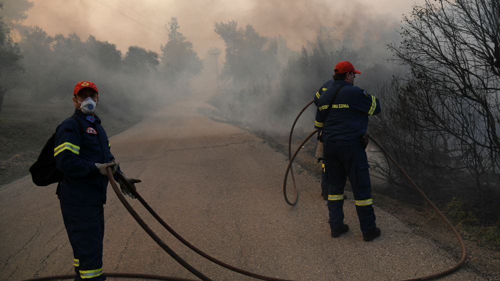 Ναύπλιο: Σε εξέλιξη πυρκαγιά σε χορτολιβαδική έκταση