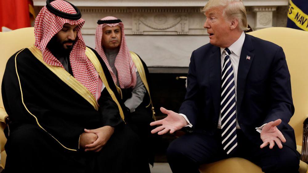 """Με τον πρίγκιπα διάδοχο της Σ. Αραβίας μίλησε  ο Τραμπ - """"Δεν είμαστε ικανοποιημένοι"""""""