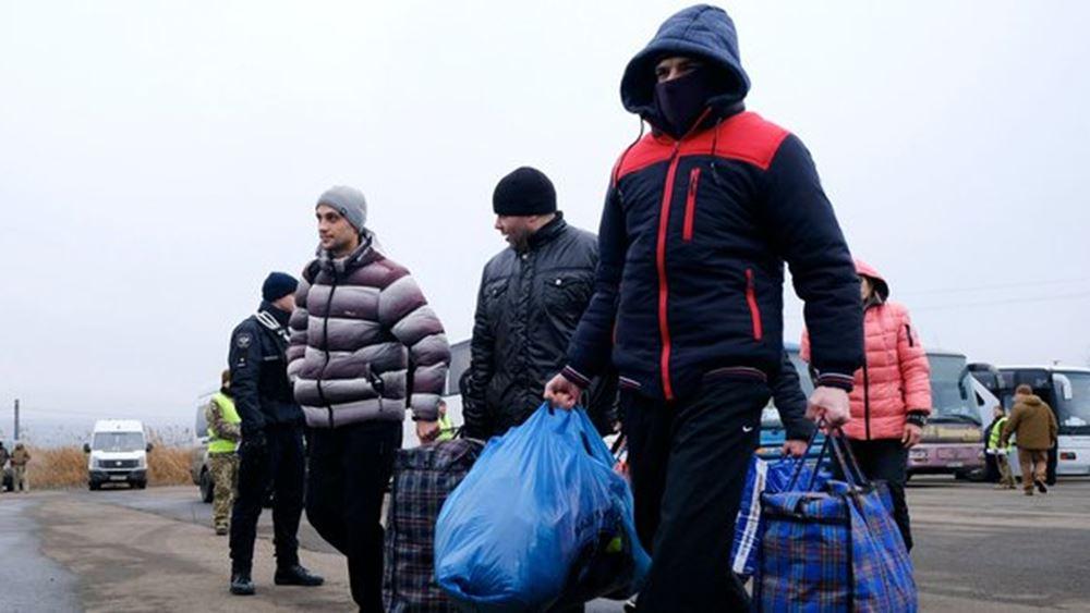 Ουκρανία: Ολοκληρώθηκε η ανταλλαγή αιχμαλώτων, μεταξύ της κυβέρνησης και των αυτονομιστών