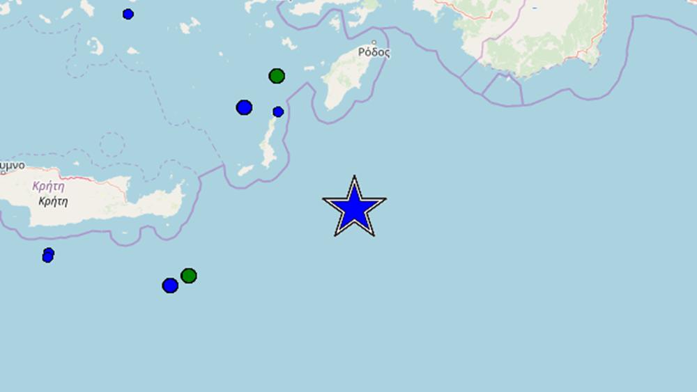 Μεγάλος σεισμός 5,1 Ρίχτερ ανοιχτά της Καρπάθου