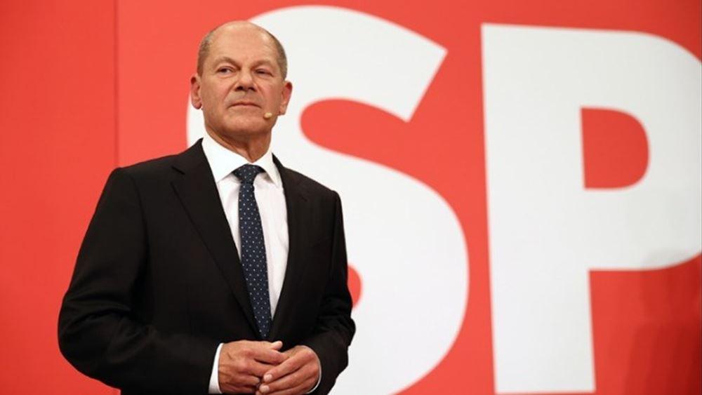 Γερμανία: Άρχισαν οι διερευνητικές επαφές μεταξύ SPD, Πρασίνων και FDP
