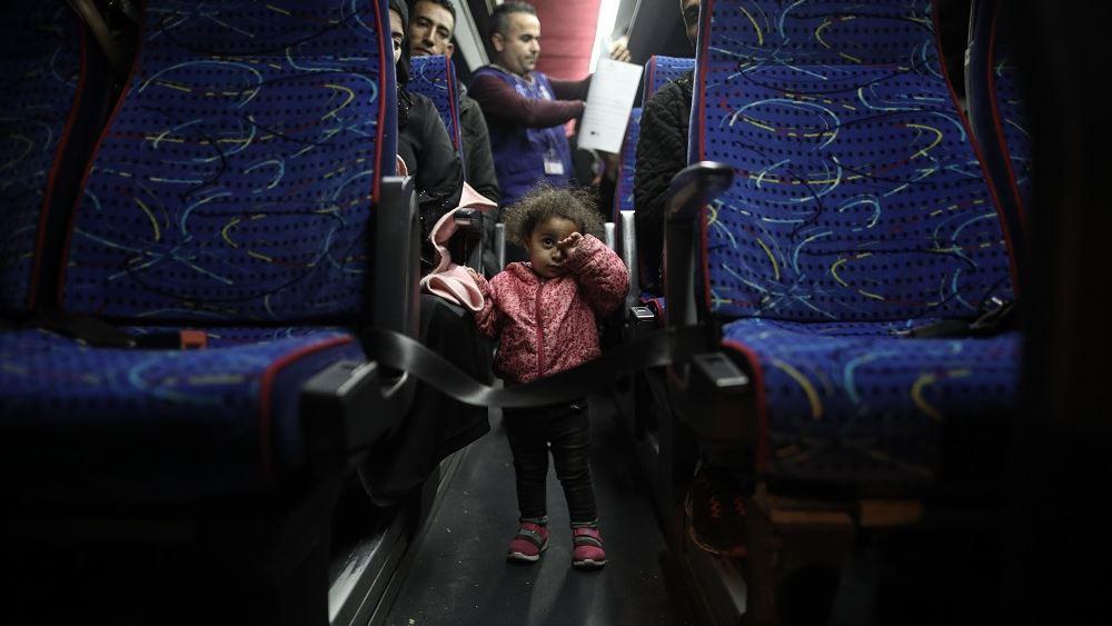 Βέροια: Διαμαρτυρία κατοίκων της Νάουσας για άφιξη νέων προσφύγων και μεταναστών
