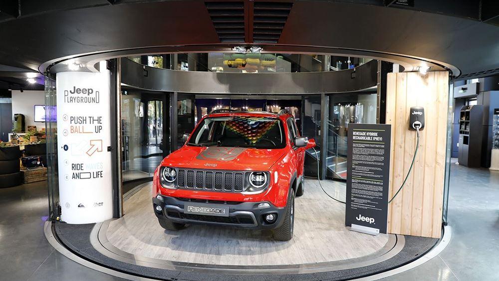 Nέο Jeep® Renegade Plug-in Hybrid (PHEV)