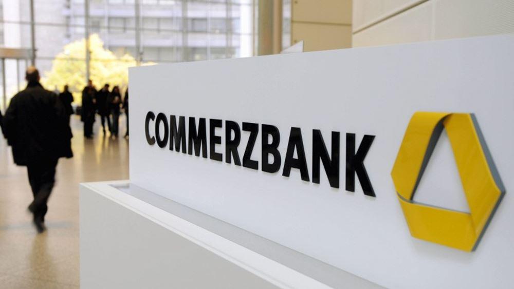 Αρνητική προειδοποίηση για τα κέρδη του 2019 εξέδωσε η Commerzbank