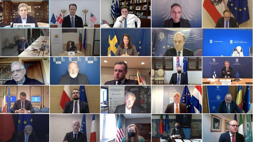 Μ. Βαρβιτσιώτης: Η Ελλάδα χαιρετίζει την επιστροφή των ΗΠΑ στη Συμφωνία του Παρισιού