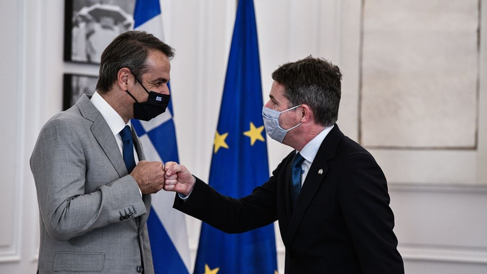 Π. Ντόναχιου: Το Σχέδιο Ανάκαμψης της Ελλάδας, από τα καλύτερα στην Ευρώπη