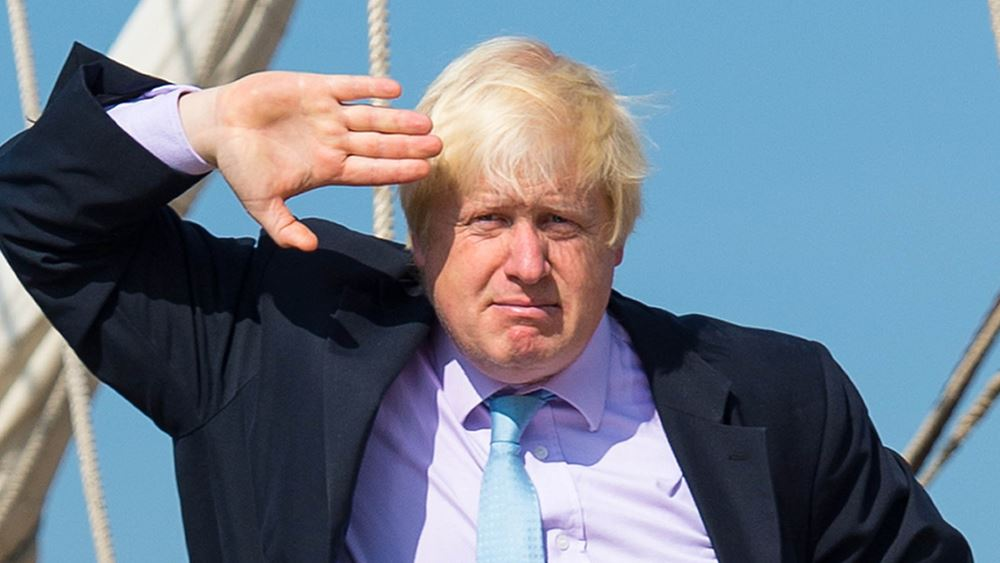 Υποχωρεί η στερλίνα λόγω ανησυχιών για την πιθανότητα να γίνει πρωθυπουργός ο Johnson