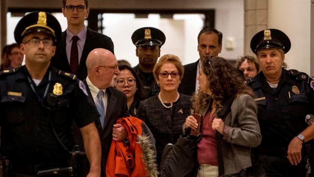 ΗΠΑ: Στο Κογκρέσο κατέθεσε η πρώην Αμερικανίδα πρέσβης στην Ουκρανία