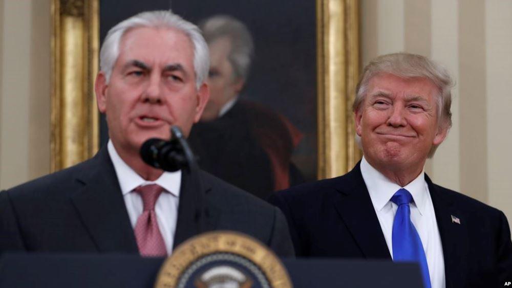 """ΗΠΑ: """"Αβέβαιος"""" ο Trump αν ο Tillerson θα παραμείνει υπουργός Εξωτερικών"""