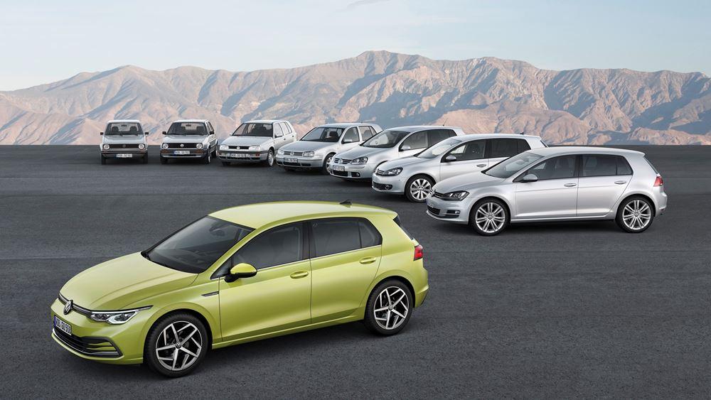 Το νέο Volkswagen Golf αποκαλύφθηκε (vid.)