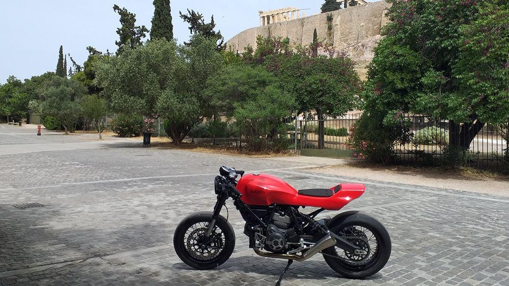 Συμμετοχή της Ducati Athens στην τελική φάση του διαγωνισμού Custom Rumble της Ducati