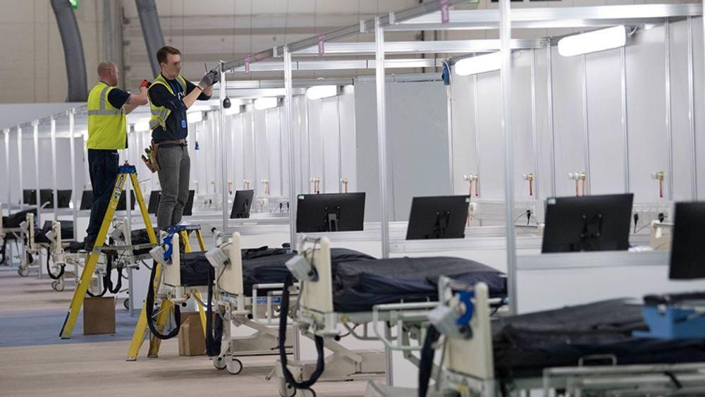 Βρετανία: Οι εμβολιασμοί μείωσαν 70% τις μολύνσεις μεταξύ του ιατρονοσηλευτικού προσωπικού