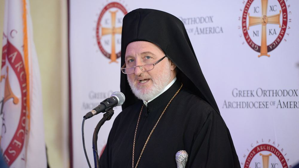 Ο Αρχιεπίσκοπος Αμερικής Ελπιδοφόρος εύχεται ταχεία ανάρρωση στον Ιερώνυμο