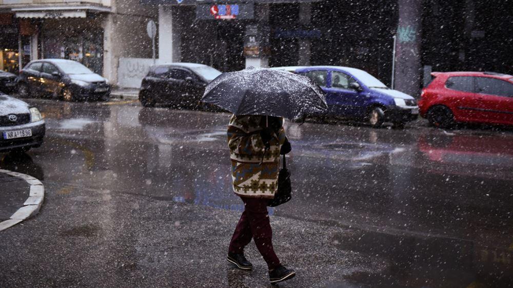 """""""Ζηνοβία"""": Χιόνια και ψύχος έφερε το νέο κύμα κακοκαιρίας"""