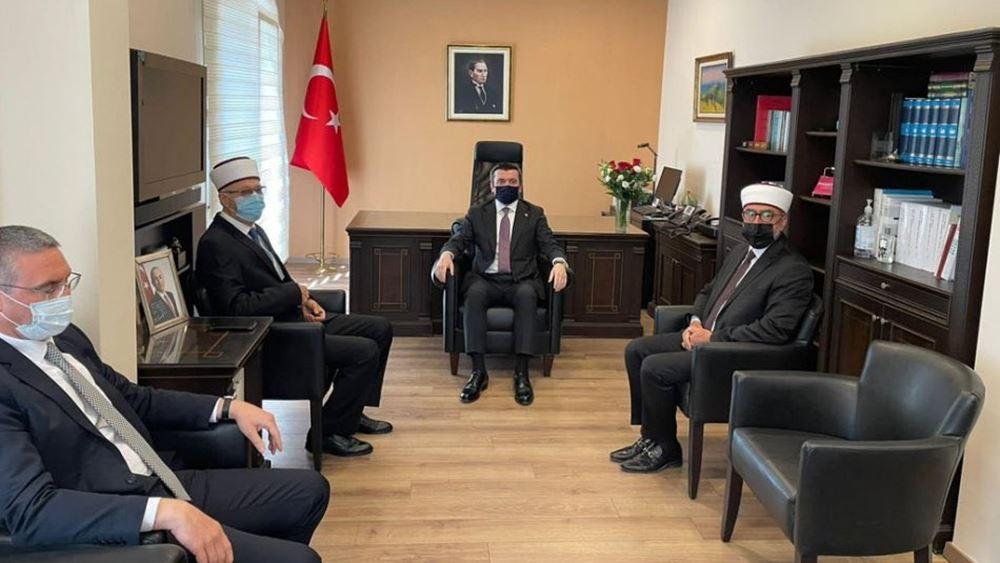 """Ο Τούρκος Υφ. Εξωτερικών ήρθε στην Κομοτηνή και μίλησε για """"τουρκική μειονότητα Δ. Θράκης"""""""