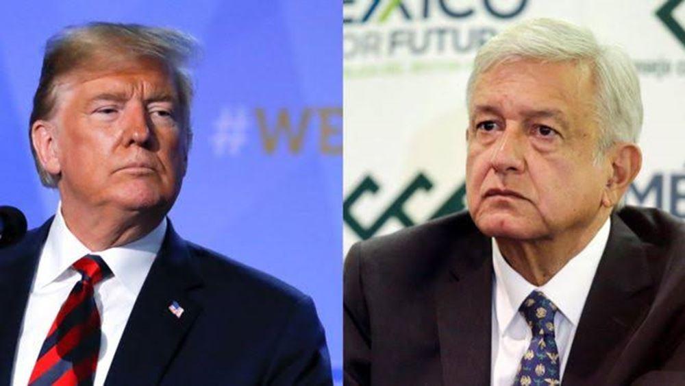 Ο πρόεδρος του Μεξικού θα μεταβεί στις ΗΠΑ