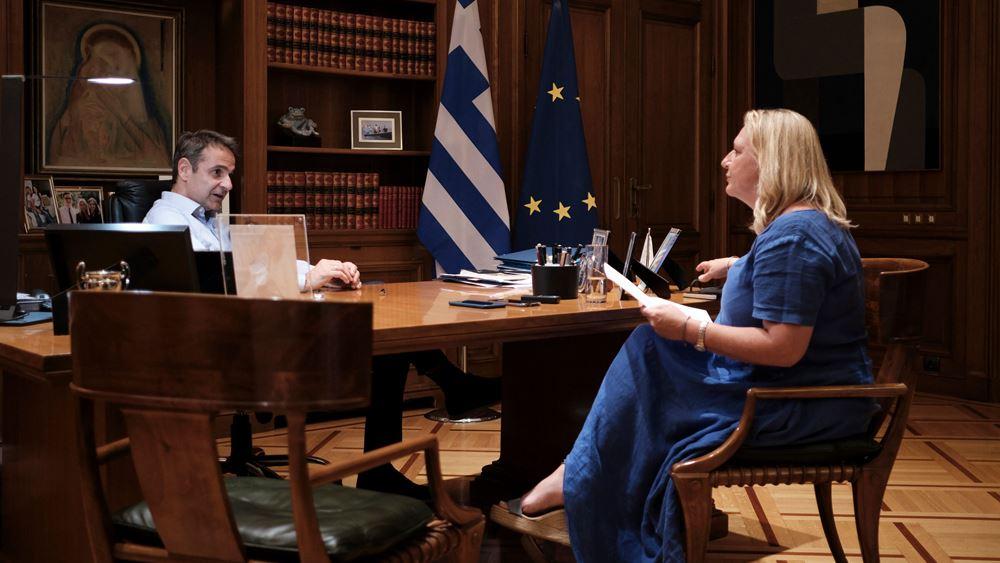 Μητσοτάκης: Ζήτησε συνέπειες για χώρες που δεν δείχνουν αλληλεγγύη στο μεταναστευτικό-προσφυγικό