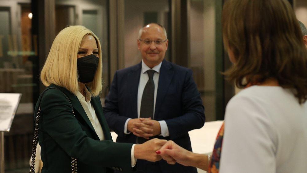 Φ. Γεννηματά: Να προχωρήσει η ένταξη των χωρών των Δ. Βαλκανίων για τη σταθερότητα στη περιοχή
