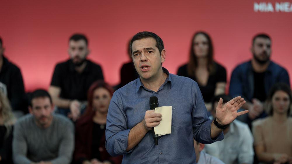 """Ο Τσίπρας """"καρφώνει"""" τα σενάρια περί πρόωρων εκλογών"""