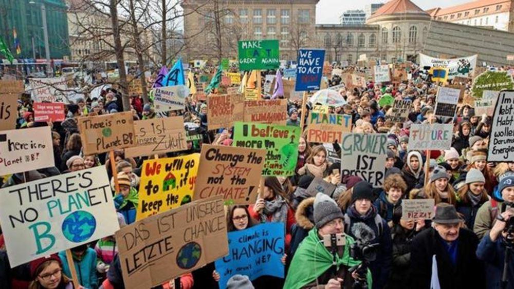 Περισσότεροι από 1 εκατ. διαδηλωτές στους δρόμους της Γερμανίας για το κλίμα