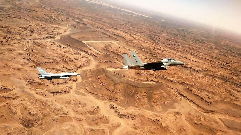 """Με επιτυχία ολοκληρωθηκε η διμερής άσκηση  Ελλάδας-Σαουδικής Αραβίας με την επωνυμία """"FALCON EYE – 2"""""""