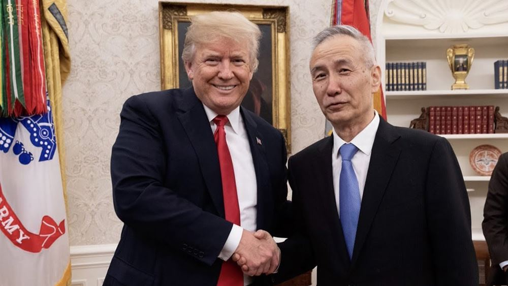 Κινεζικά ΜΜΕ: Ο Λιού Χε θα υπογράψει εντός εβδομάδος την ''Πρώτη Φάση'' της συμφωνίας με τις ΗΠΑ