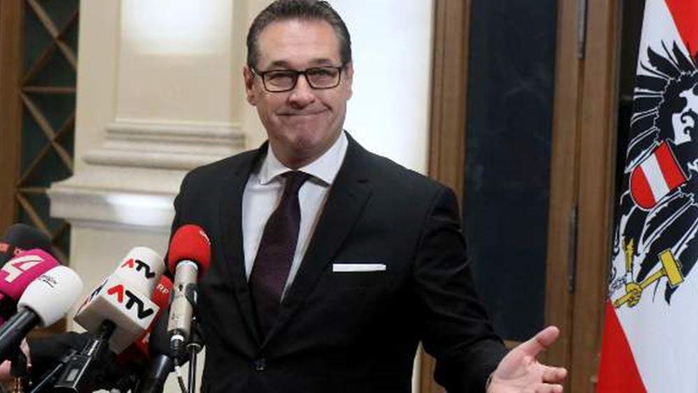"""Στράχε: Η πτώση του """"κ. Καθαρού"""" της αυστριακής ακροδεξιάς"""