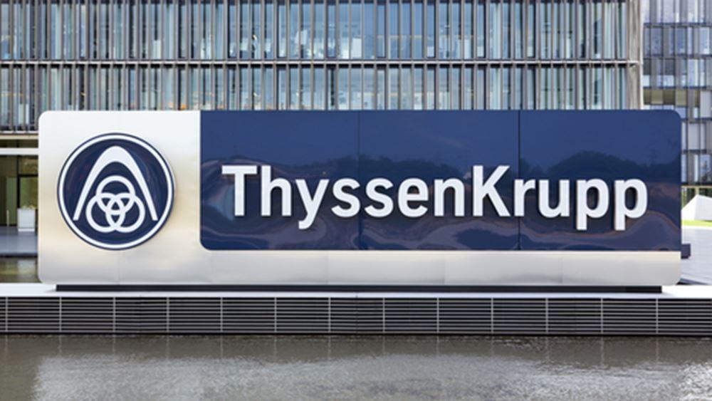 """H ThyssenKrupp """"παραιτεί"""" τον διευθύνοντα σύμβουλό της"""