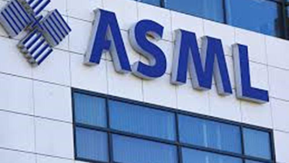 Καλύτερα των προσδοκιών τα κέρδη της ASML β΄ τριμήνου