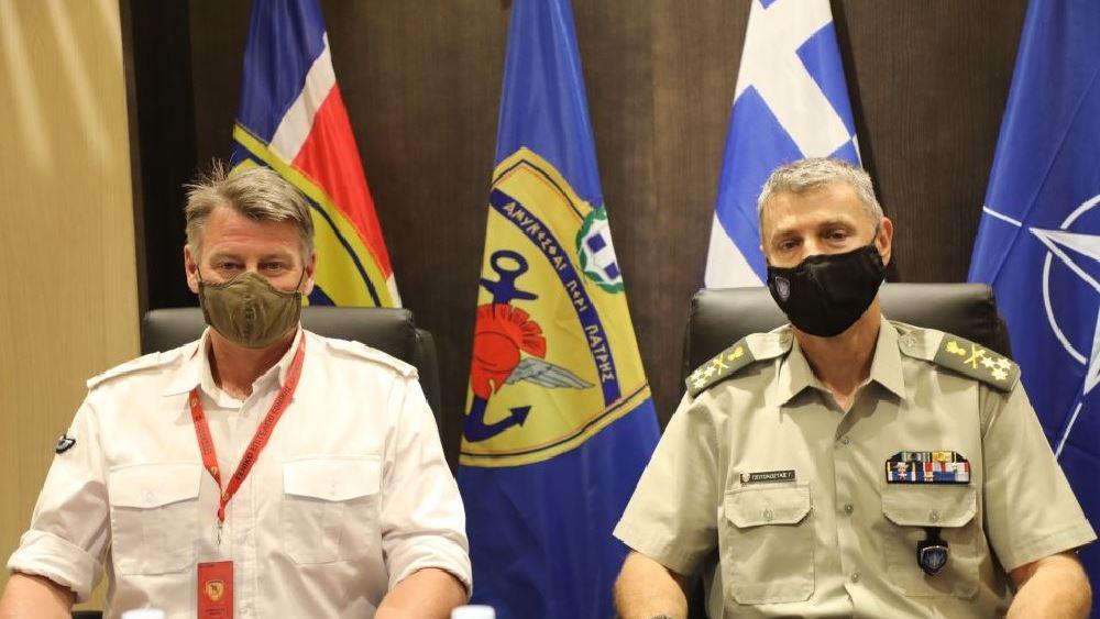 Επίσκεψη του διοικητή του NATO Special Operations Headquarters στην Ελλάδα