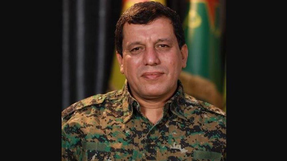 Αμερικανός διοικητής συναντήθηκε με τον ηγέτη των Κούρδων της Συρίας και υποσχέθηκε υποστήριξη