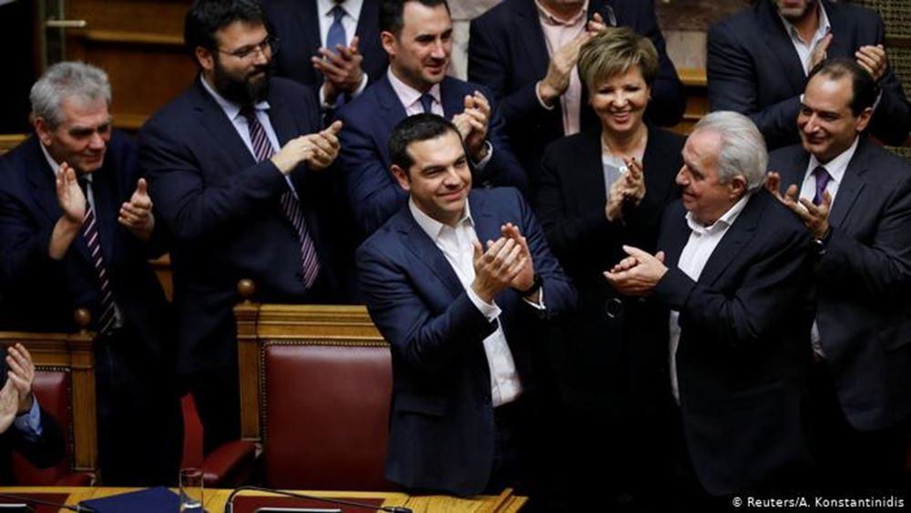 "DW: ""Προεκλογικός ελιγμός"" Τσίπρα η νέα ψήφος εμπιστοσύνης;"