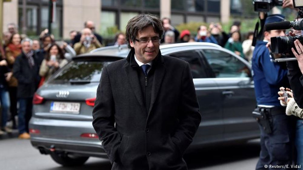 Βέλγιο: Δικαστής άφησε ελεύθερο υπό όρους τον πρώην πρόεδρο της Καταλονίας Κ. Πουτζντεμόν