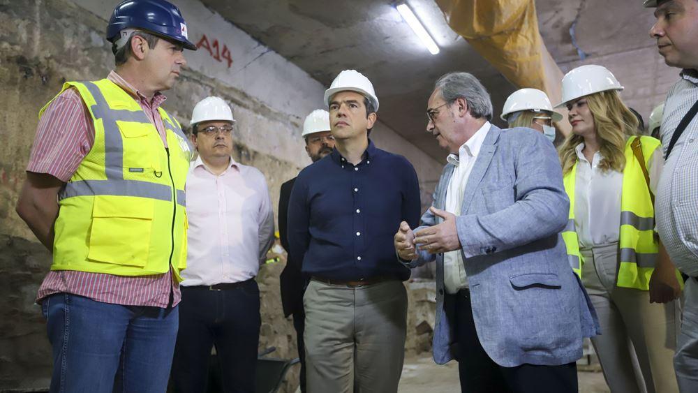 Τσίπρας: Το Μετρό είναι η μεγαλύτερη απάτη του κ. Μητσοτάκη στους Θεσσαλονικείς