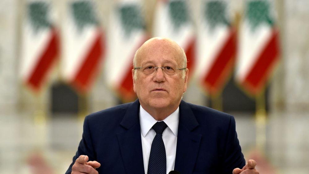 Πρωθυπουργός Λιβάνου: Θέλω να σταματήσω την κατάρρευση της χώρας