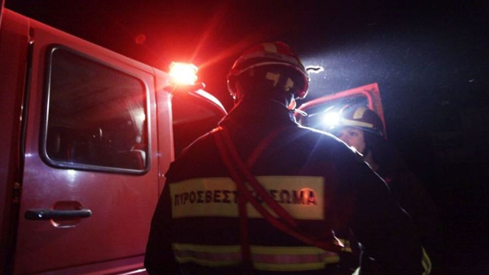 Μικρές υλικές ζημιές προκάλεσε πυρκαγιά σε εργοστάσιο στην ΒΙΠΕ Σίνδου