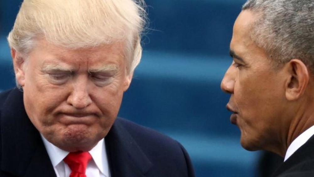 Τραμπ: Ο Ομπάμα γνώριζε τις καταγγελίες για την ανάμιξη της Ρωσίας στις προεδρικές εκλογές