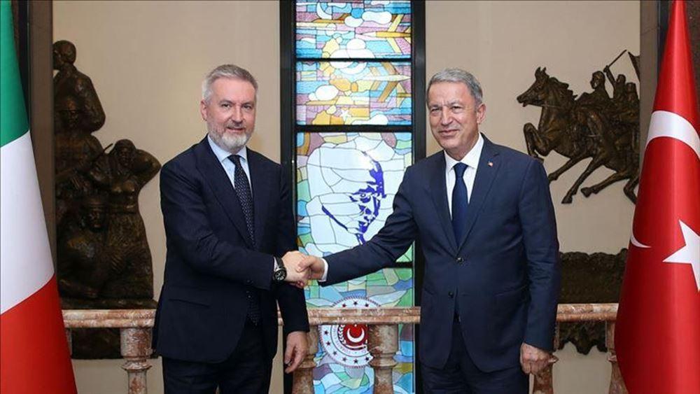 Ιταλός υπουργός Άμυνας: Η φιλία με την Τουρκία έχει βαθιές ρίζες - Συμφωνία για πολιτική λύση στη Λιβύη
